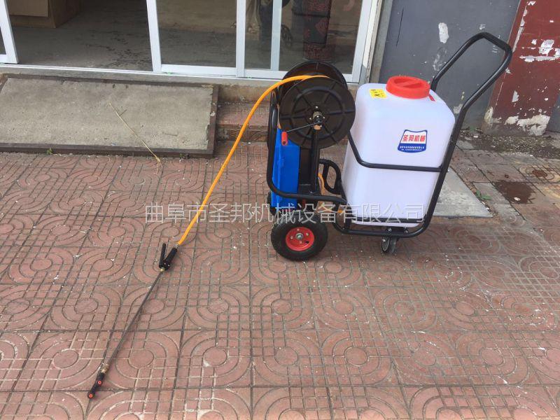 新型充电式喷雾机 电动杀虫打药机 蔬菜小型打药机 圣邦牌喷雾机