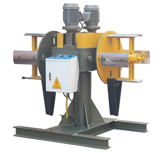 台湾厂家直销进口KHT自动有动力或无动力双头材料架 十年耐用