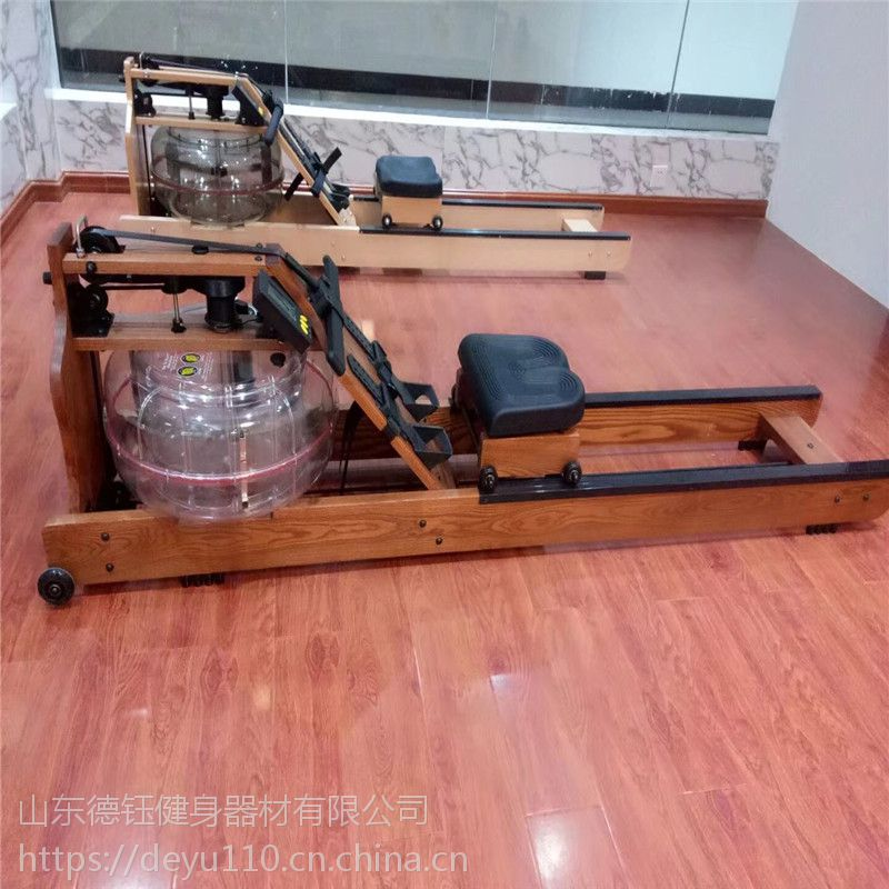 厂家直销水阻划船机液阻划桨机纸牌屋家用立式划船器健身房划艇机
