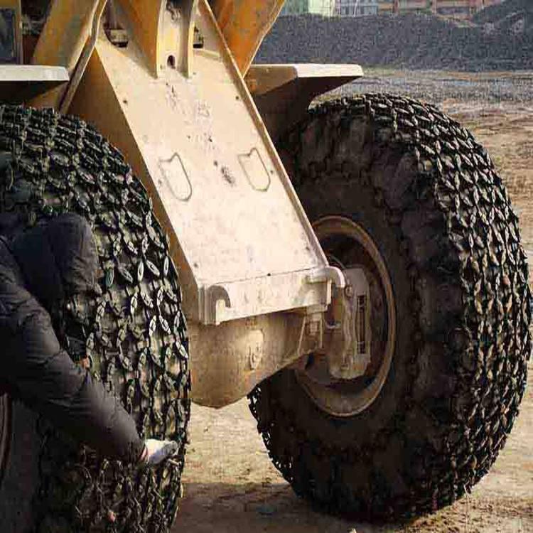 23.5-25轮胎菱形/方块保护链 装载机防滑链力奥价格