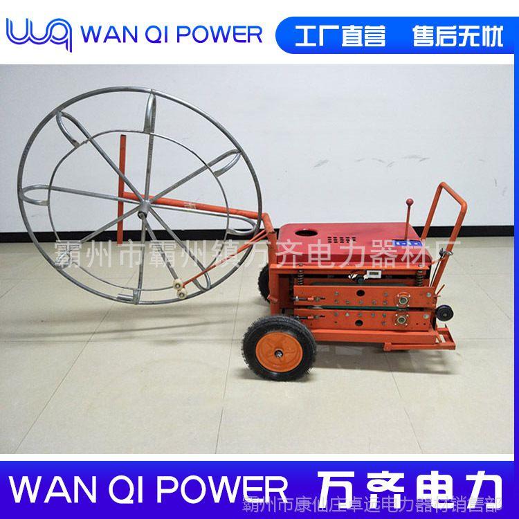 自动光缆输送机 汽油机光纤输送器  汽油机光缆拉缆机型号图片