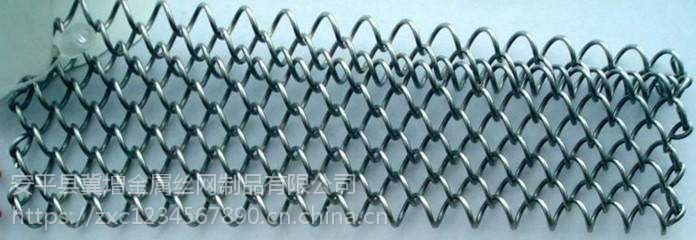 河北生产厂家商场金属装饰网勾花屏蔽网