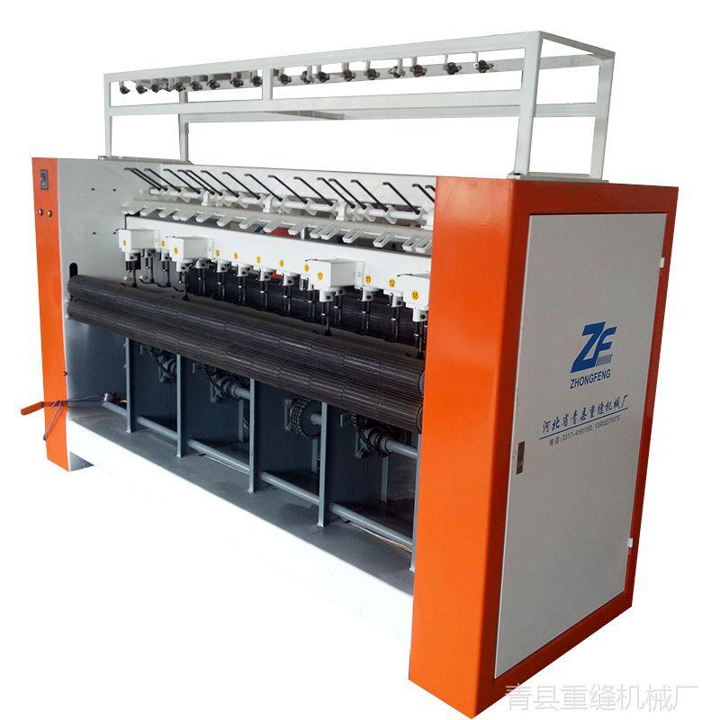 大型多针3米加针棉门帘缝纫机 直线全自动绗缝机 做门帘的设备