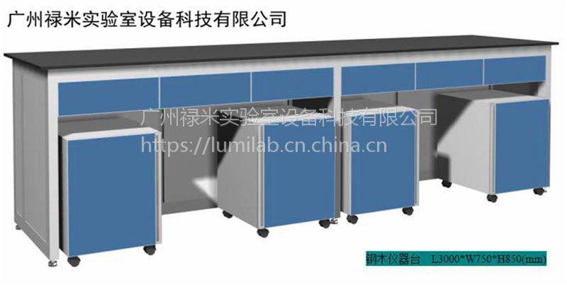 禄米销售实验室专用承重仪器台,承重性能强,可选钢木,全钢材质