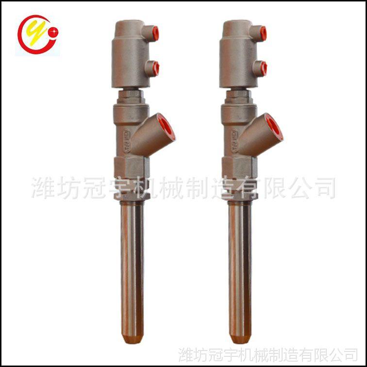 工厂生产 DN20- 27(6分接口)立式 加长杆灌装机用灌装气动阀门