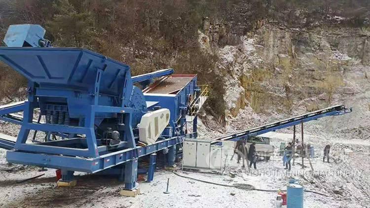 宁波地铁大风暴-移动式建筑垃圾破碎再生线