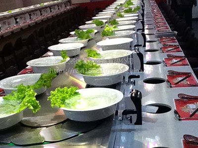 厂家直销涮烤一体旋转小火锅设备生产商 提供配方上门安装