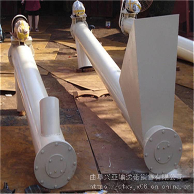 兴亚嘉兴市常规螺旋上料机 不锈钢材质提升机 新型管径螺旋提升机