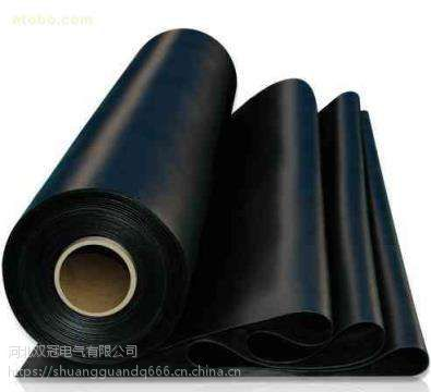 黑色绝缘橡胶板 电站内用绝缘胶皮垫 厂家直销 量大价格优惠