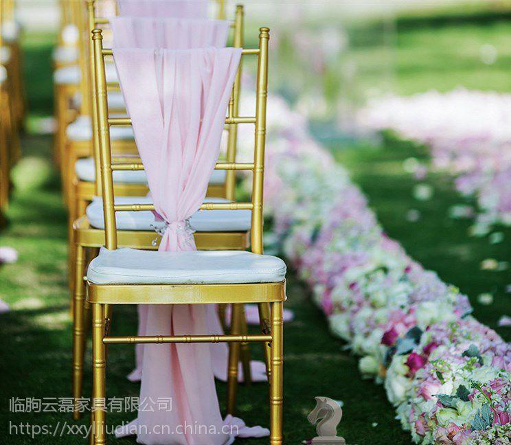 厂家直销DL0037金属竹节椅