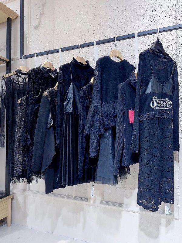 品牌折扣女装批发货源蜂后国际18年秋冬装专柜正品尾货