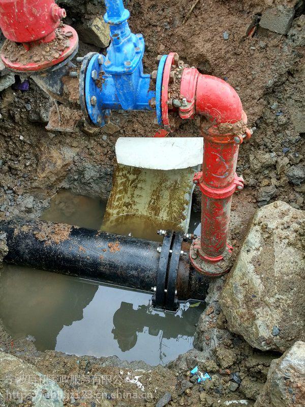 杭州地下管道漏水查漏听漏杭州消防管道测漏
