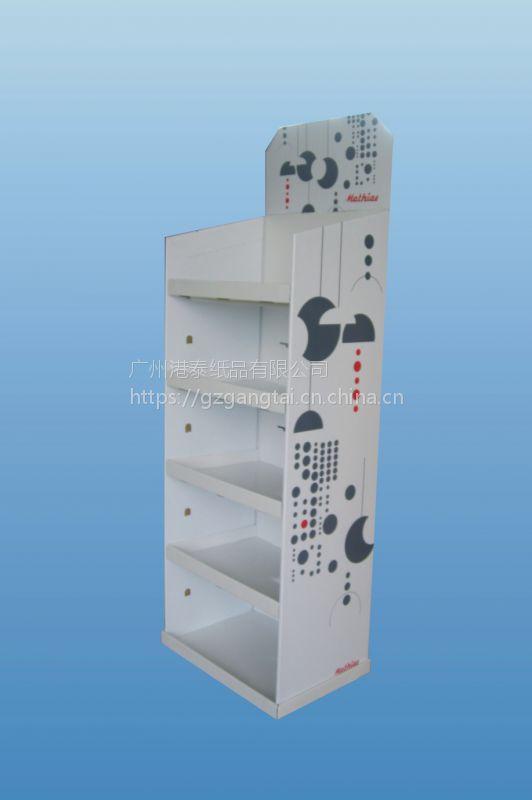 供应纸质货架/托盘式/挂钩式/堆放式纸展架