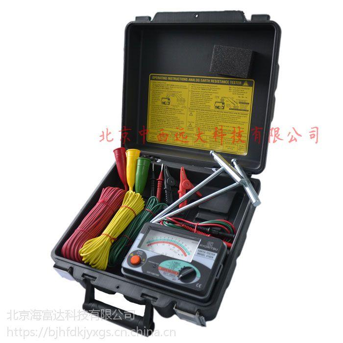 接地电阻测试仪 型号:KL14-MODEL 4102AH