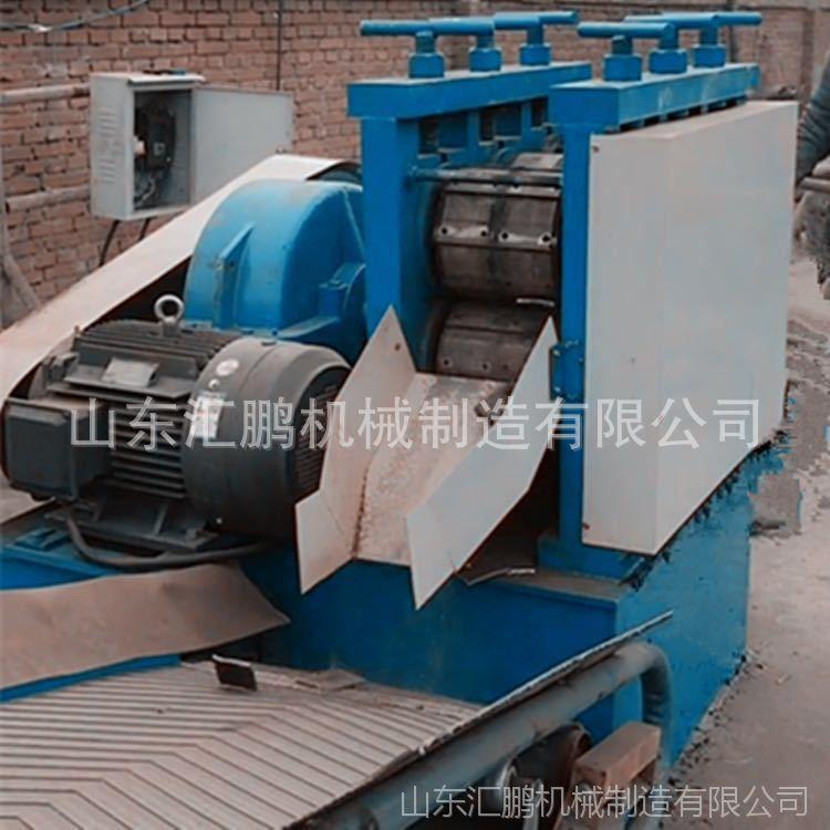 厂家直销钢管截断机 废旧钢管压扁剪断机汇鹏 22千瓦