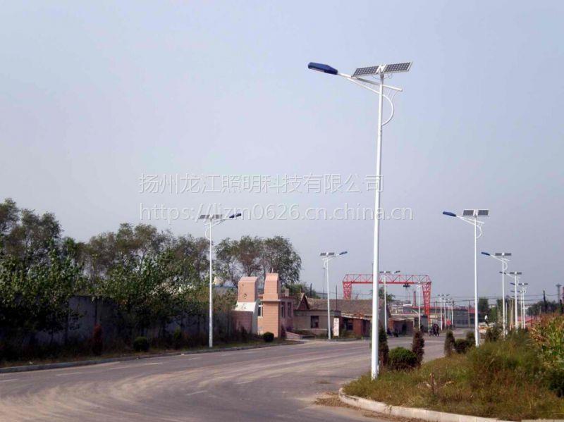 龙江照明供应遵义湄潭县锂电池太阳能led路灯6米40瓦厂家