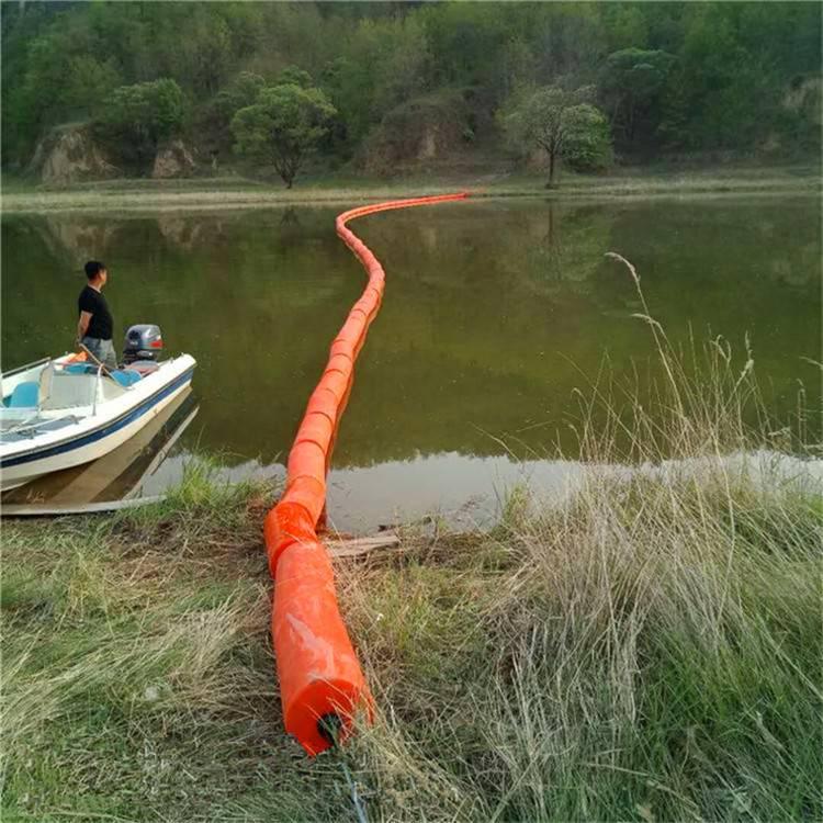 重庆水源地保护警示浮标 水库拦垃圾用浮筒价格