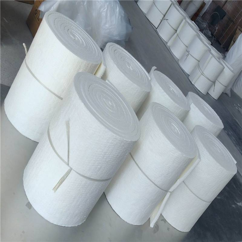 厂家报价硅酸铝挡火板 优质外墙保温无纺硅酸铝针刺毯
