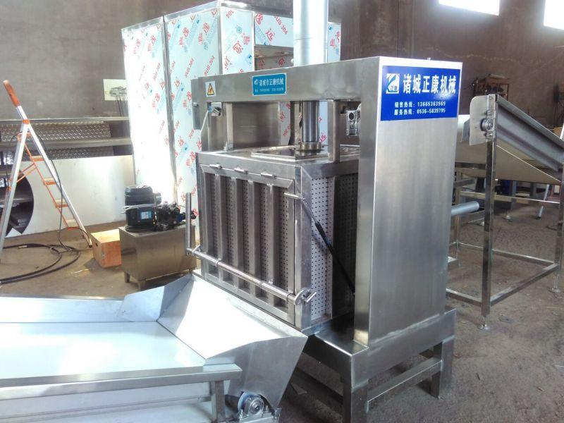 正康供应筐栏式压榨机价格 咸菜压榨脱水设备 可定制