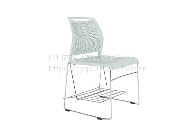 麦德嘉供应弓形脚会客接待椅子现代简约塑料椅培银行洽谈椅