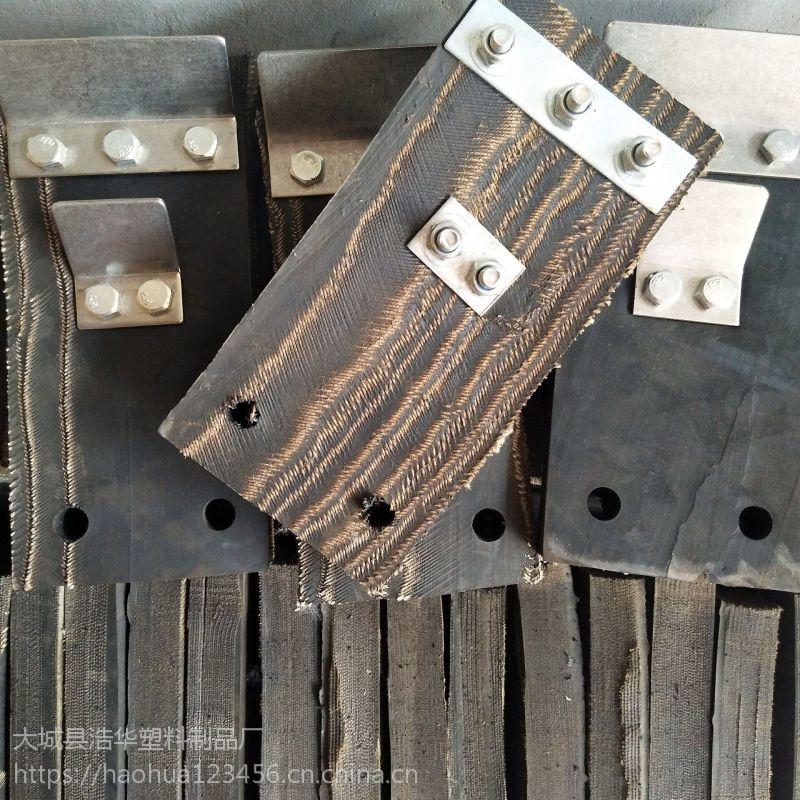 亳州橡胶块厂家 橡胶打毛块 带刮板猪屠宰轮胎皮刮毛块 全线加强型去毛块