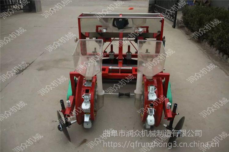 花生先覆膜的播种机 农户必备的种植设备播种机