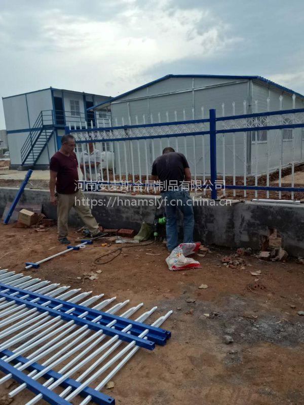 河南防护栏厂家 铁艺栅栏 小区厂房围栏 铸铁隔离栏庭院栏杆