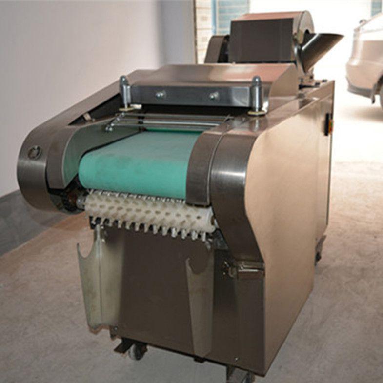 商用大型快速多功能切菜机 切丝切片机 输送带切菜机