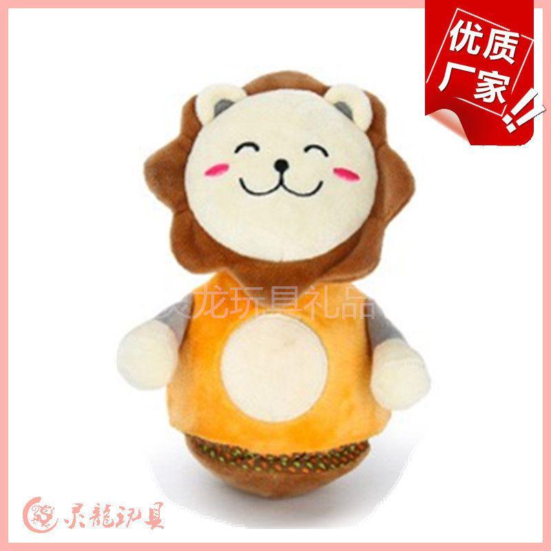 布偶定制婴儿玩具海龟图纸音乐狮子不倒翁宝厂家七彩拼豆图片