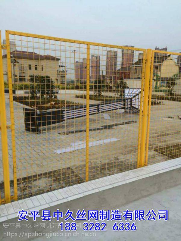 框架护拦 圈大棚护栏网 圈地围栏网高铁金属网片防护栅栏