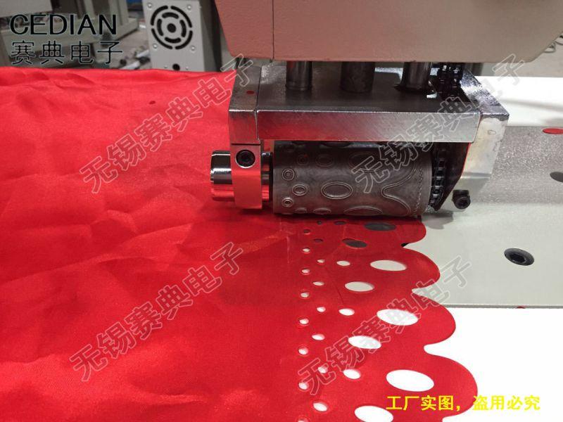 赛典专业生产非标超声波龙门式花边机,超声波眼罩机,超声波鞋垫机
