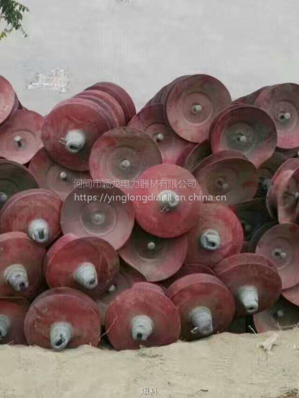 颖龙公司高价回收避雷器价格 大量回收铁路瓷瓶绝缘子座式避雷器厂家