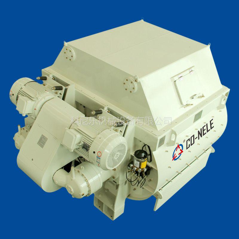 JS2000污泥处理设备双螺带强制式搅拌机设备厂家山东科尼乐