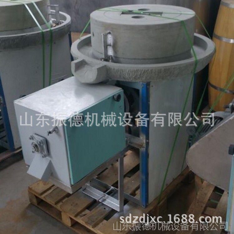 直销电动面粉石磨机 振德 优质传统老式石磨 粗粮杂粮电动石磨机