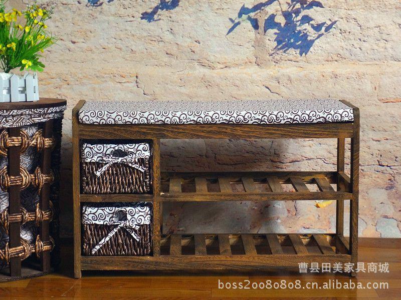 坐凳出口~美式中式厂家家具家具风格储物亳州市办公鹰田园展图片