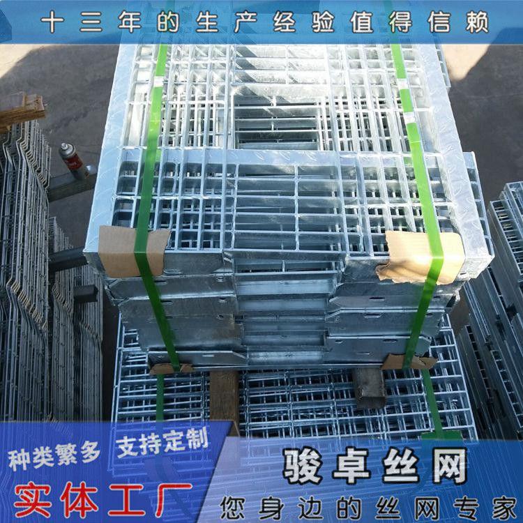 供应304钢格栅 电厂踏步板多钱 格栅板现货