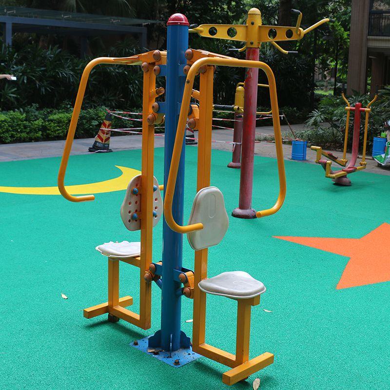 越秀区公园使用健身器材组合 综合训练器规格 加工厂直供114管材