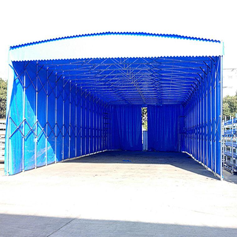 无锡市宜兴市佰烨罗雨篷定制 雨棚布批发 活动推拉帐篷厂家
