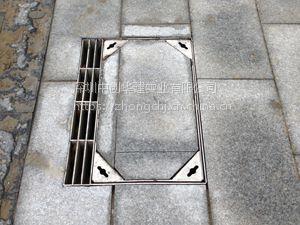 中创华建厂家直销全套304不锈钢隐形装饰井盖窨井盖沙井盖