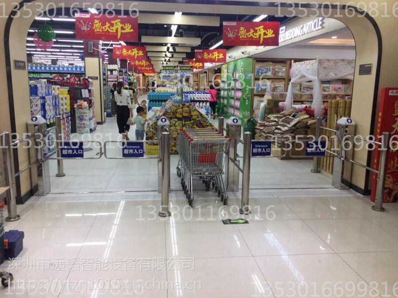 超市自动感应门,商场红外感应门,远韬自动摆闸门价格