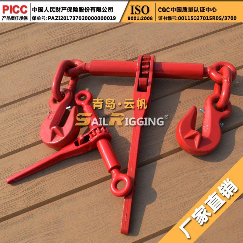 厂家批发 喷塑模锻杠杆式紧索具 高强度铸造杠杆收紧器 型号齐全