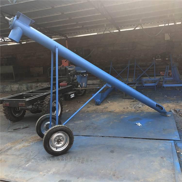 粉末颗粒上料机 效率快的提升机 养殖饲料输送机