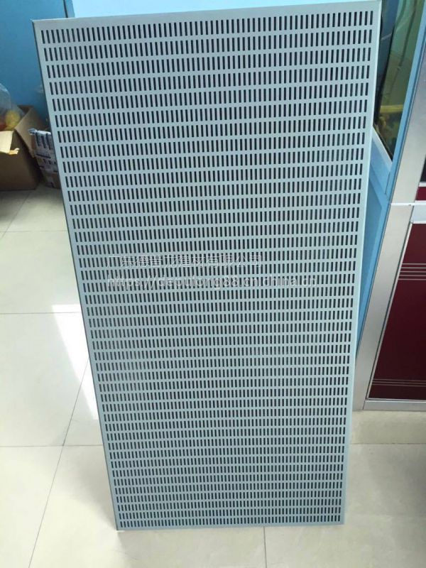 4S店Audi奥迪长城冲孔铝单板-银灰色穿孔铝板-凹凸形墙身铝幕墙