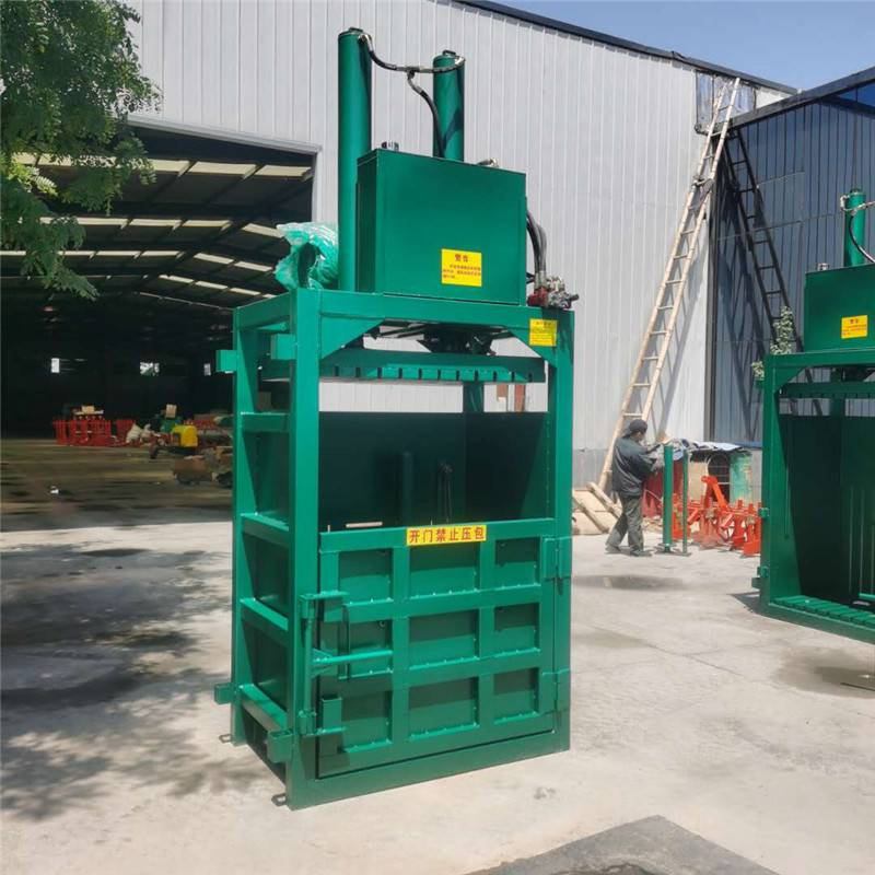 垃圾压缩打包机 大吨位加厚编织袋挤块机厂家 佳鑫压块机
