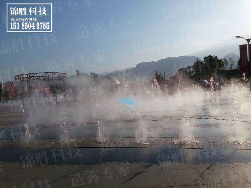 方案园林人造雾喷雾,雾森景区免费v方案,造景行深圳市华禾室内设计有限公司图片