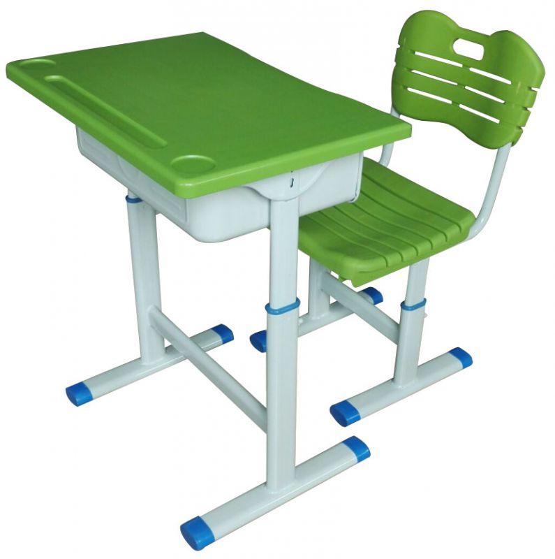 单人位学生课桌椅港文金属制品厂生产