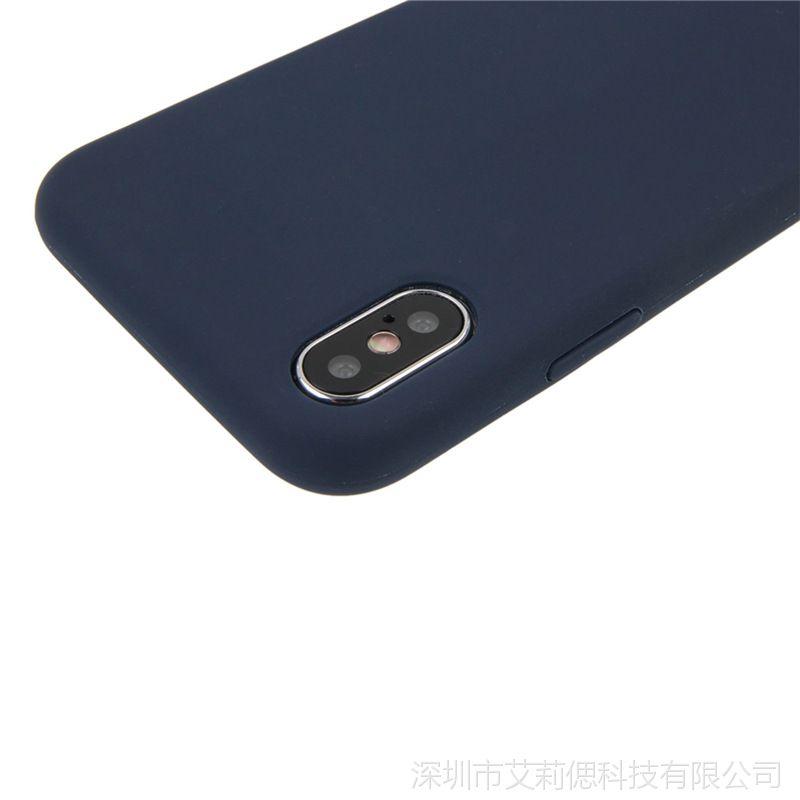 iPhoneX硅胶手机手机壳苹果8p三星oppo华为缓存液态充值苹果图片