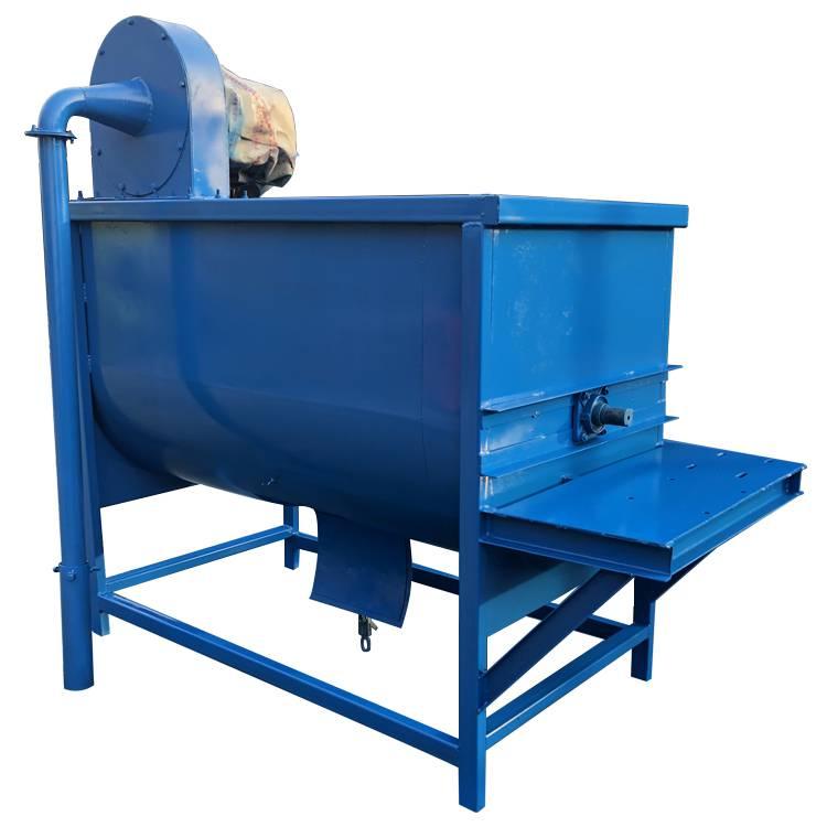 螺旋混料搅拌机 大中型卧式搅拌机 机器配带减速电机