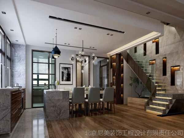 中式风格双拼别墅装修设计