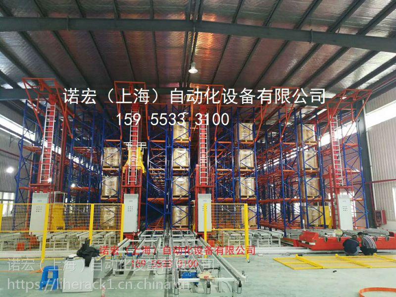 高位立体库堆垛机货架自主生产厂家-诺宏货架
